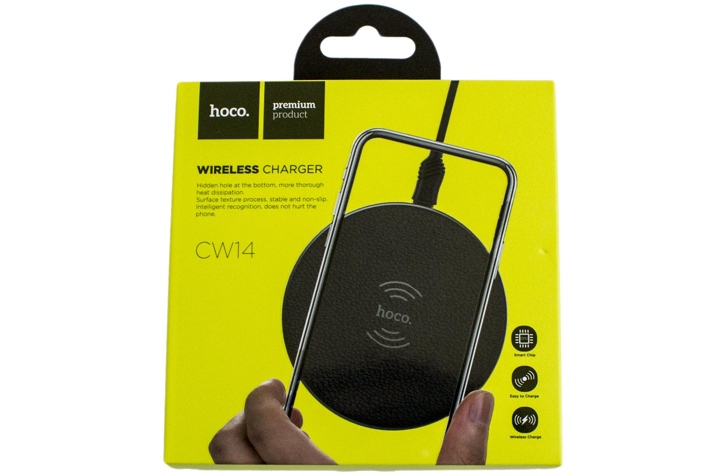 Безпровідний мережевий зарядний пристрій Hoco CW14 Round Wirelless Charger 5W