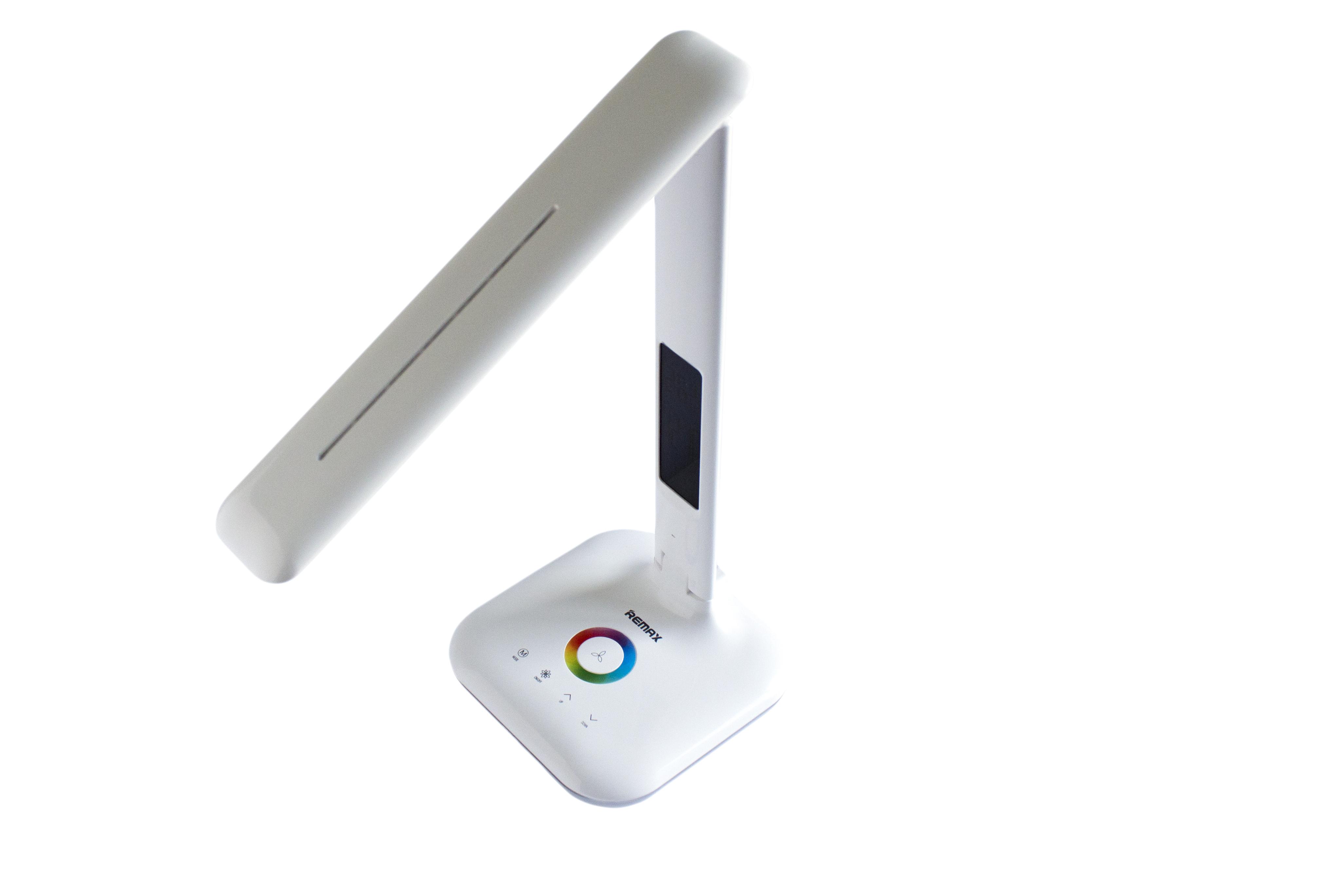 Настільна сенсорна LED лампа-трансформер Remax RL-E270 LCD + будильник + нічник