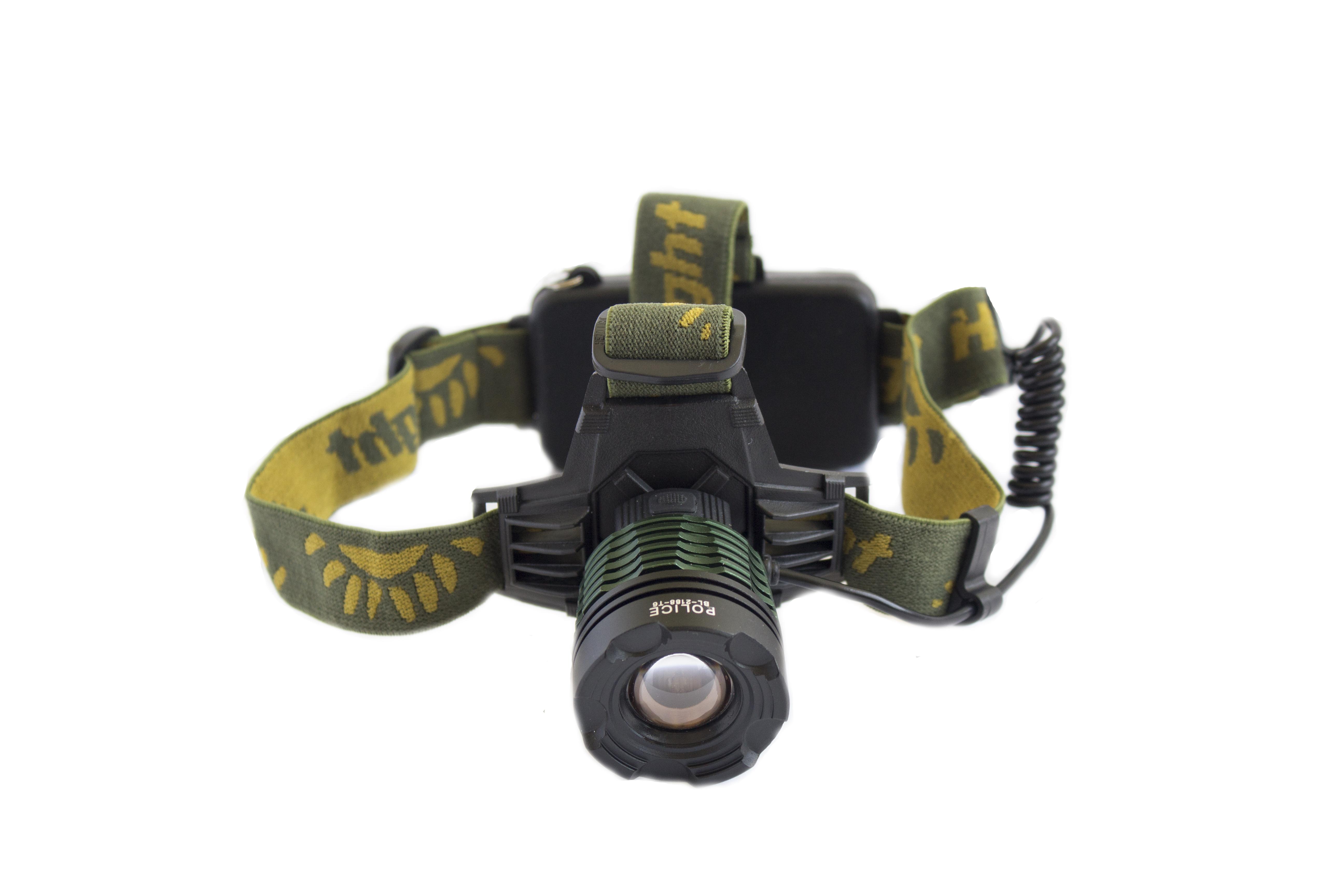 Налобный фонарик BL-2188В-T6 158000W