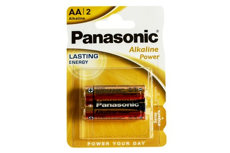 Батарейка Panasonic AAA (LR03) Alkaline Power (LR03APB/2BP)