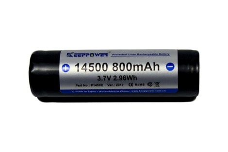 Аккумулятор Keeppower 14500 800mAh Li-ion Battery