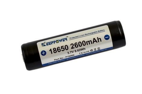 Акумулятор Keeppower 18650 2600mAh Li-ion Battery
