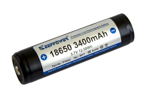 Аккумулятор Keeppower 18650 3400mAh Li-ion Battery