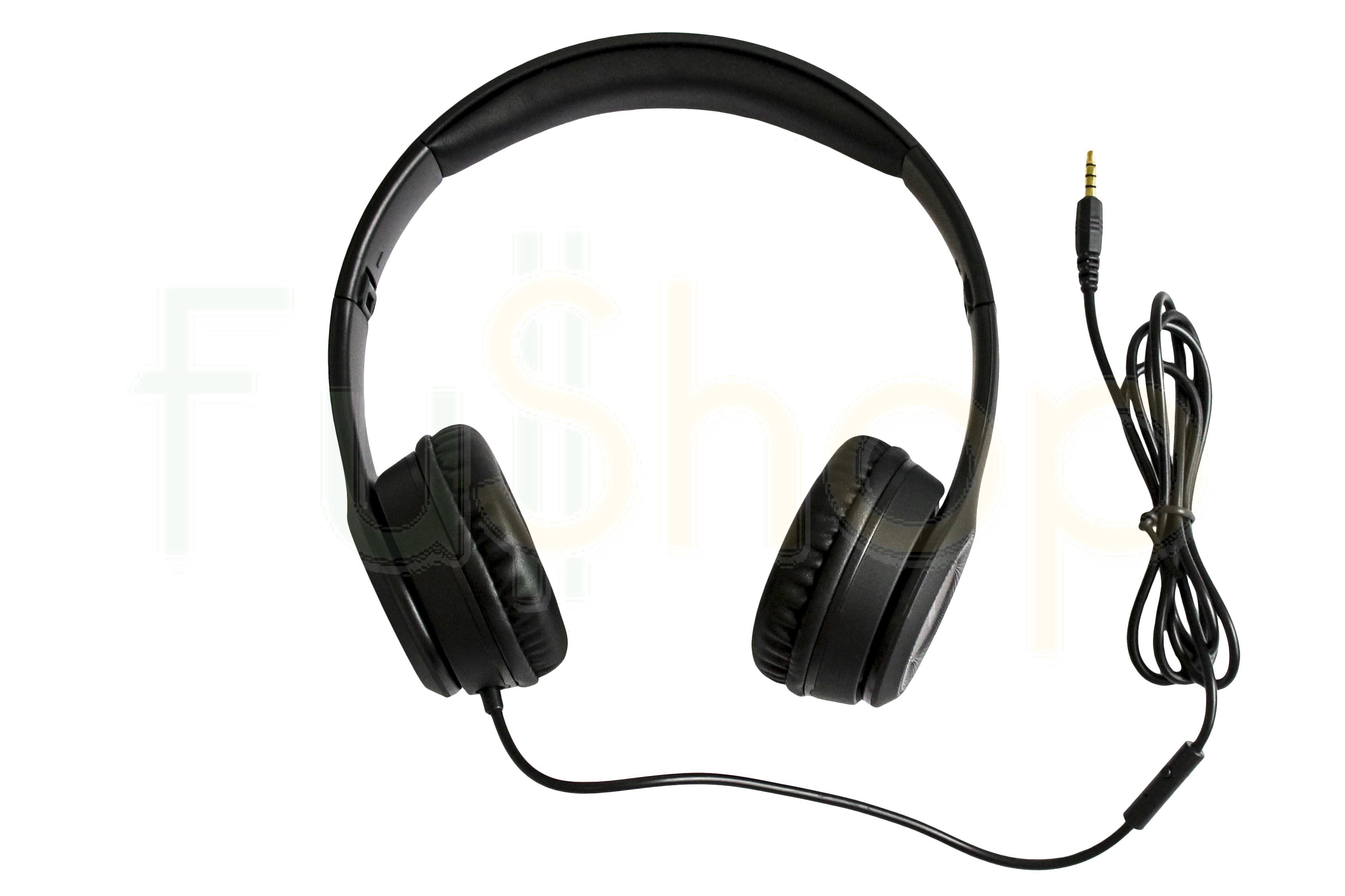 Проводные накладные наушники Hoco W21 Graceful Charm Wire Control Headphones / fullshop.com.ua :: интернет магазин