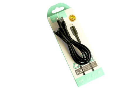 Кабель Hoco Star Charging Data Cable Lightning 1,2M (X30)